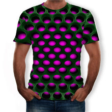 Load image into Gallery viewer, Men T-Shirt  Geometric Circle