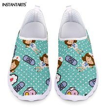 Load image into Gallery viewer, Nurse Doctor Print  Slip On Light Mesh Shoes