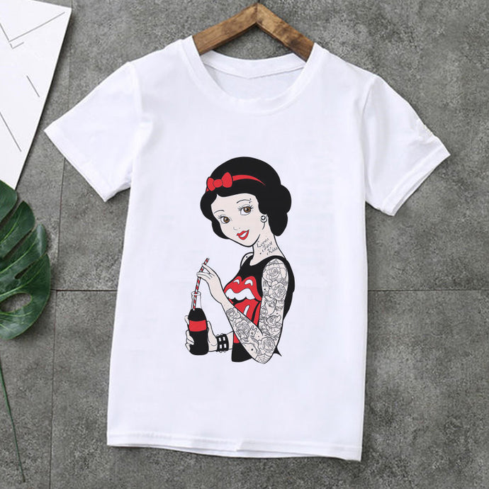 Spoof Princess Print T Shirt