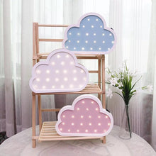 Load image into Gallery viewer, Nordic Nursery Kids Room Decor Cloud Shape
