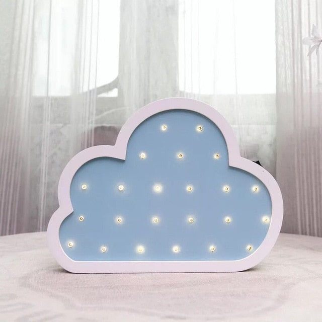 Nordic Nursery Kids Room Decor Cloud Shape