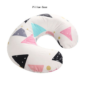 Baby U-Shaped Nursing Pillow & Pillowcase