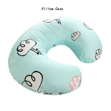 Load image into Gallery viewer, Baby U-Shaped Nursing Pillow & Pillowcase
