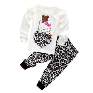 2 Pcs  Long Sleeve Set