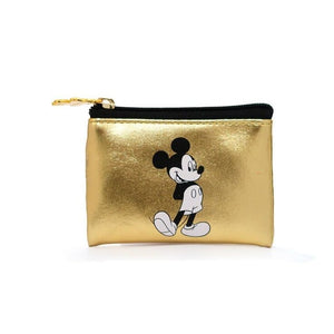PU Leather Classic Gold  Multi-function  Bag