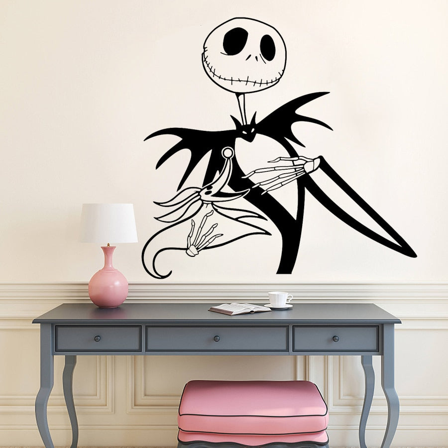 Vinyl Wall Decal Nightmare before Christmas