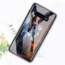 Load image into Gallery viewer, The Nightmare Before Christmas Tempered Glass Case for Samsung Galaxy S10e S8 S9 S10 Plus A50 A70 Note 9 10 Phone Cover