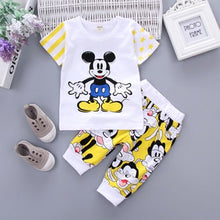 Load image into Gallery viewer, Cotton Short Sleeve Children's Clothes Set