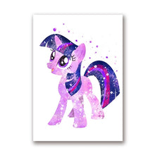 Load image into Gallery viewer, My Little Pony Nursery Wall Art Canvas Posters