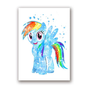 My Little Pony Nursery Wall Art Canvas Posters