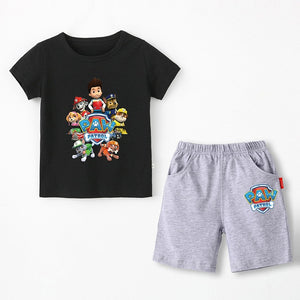 Cotton T-shirt & Shorts