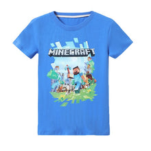 Load image into Gallery viewer, T shirt Minecraft Adventure Youth T-Shirt Kids Hooded Tops Tees Hoodies
