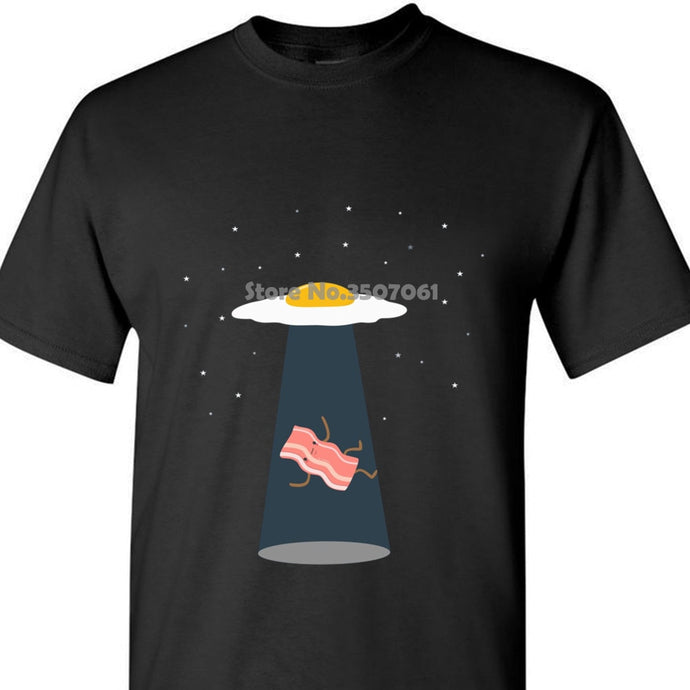Bacon And Eggs Ufo Boy's  Graphic T Shirt and Hoodies