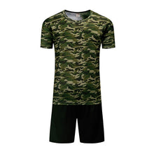 Load image into Gallery viewer, Camouflage Short Sleeves T-Shirt Shorts Suits