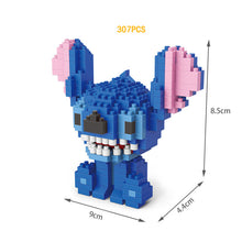 Load image into Gallery viewer, Stitch and Angie micro diamond building block