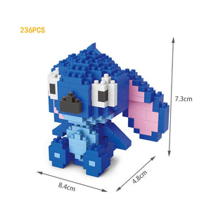 Stitch and Angie micro diamond building block