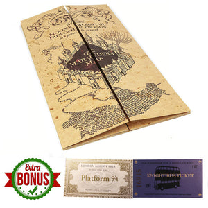 Harry Potters The Marauder's Map Wizard School Ticket