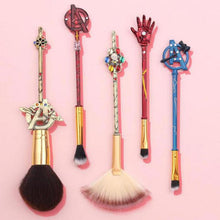 Load image into Gallery viewer, 5 Pieces/Set The Avengers Makeup Brush