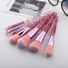 Load image into Gallery viewer, Glitter Makeup Brushes Set