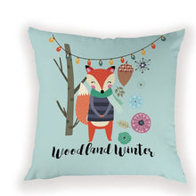 Load image into Gallery viewer, Festival Fox Pillow Case