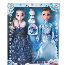 Load image into Gallery viewer, Icy Elsa,  Anna Doll