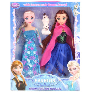 Frozen Anna Elsa Stuffed Doll