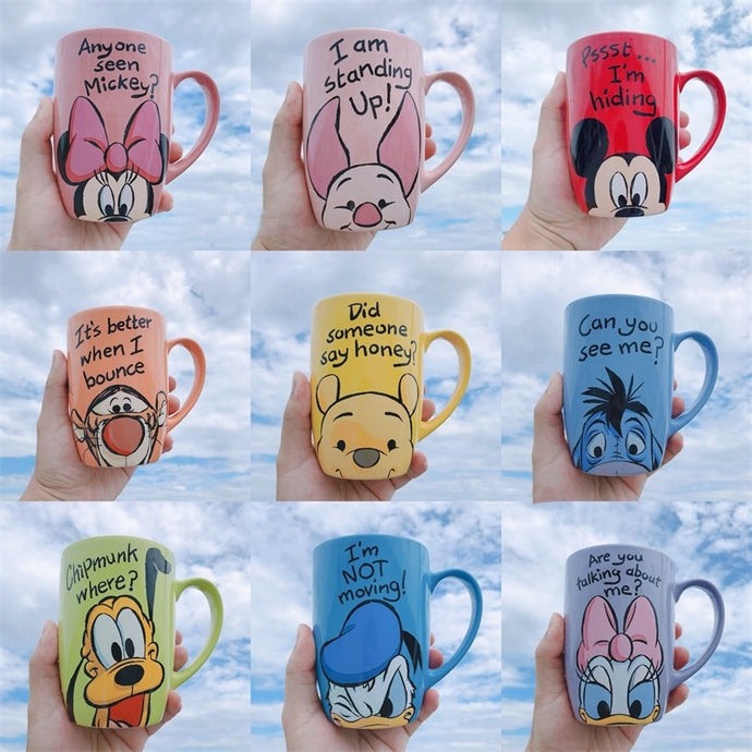 500mL Disney  Cartoon Ceramic Mug