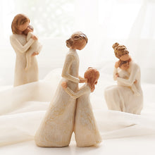 Load image into Gallery viewer, Nordic Style Love Family Figurines Resin Miniature
