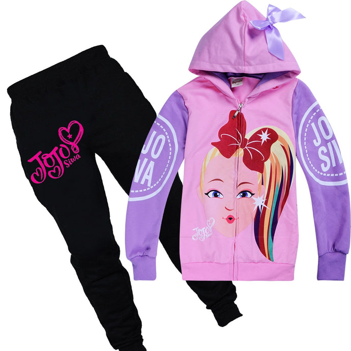 sweatshirt jacket pants sets JOJO Siwa