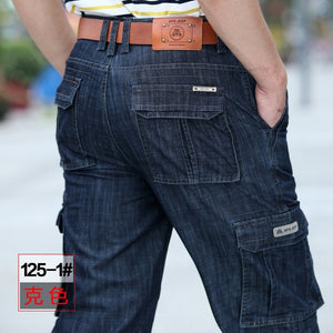 Cargo Jeans Men Big Size 29-40 42