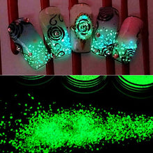 Load image into Gallery viewer, Fluorescent Luminous Glitter Powder