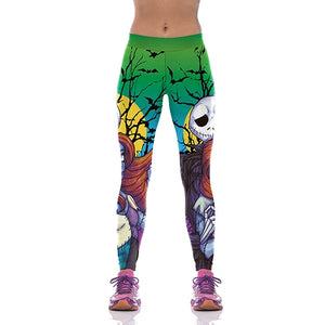 The Nightmare Before Christmas Leggings