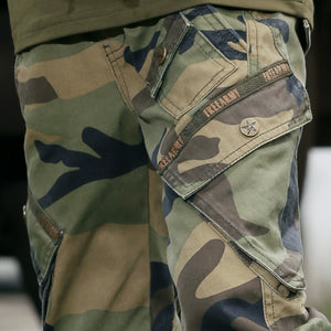 Big Pockets Camouflage Pants