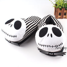 Load image into Gallery viewer, The Nightmare Before Christmas Plush  Slippers