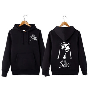 The Nightmare Before Christmas Hoodies a Couple  Black Sweatshirts