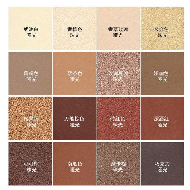 16 Color Eyeshadow Make up Palette
