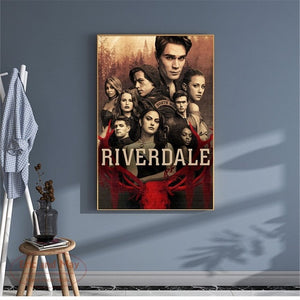 Riverdale TV Series Artwork Wall Pictures Unframed