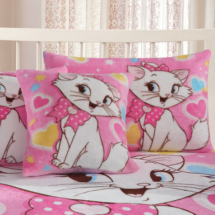 Flannel Pillowcases 1piece  Marie, Elsa & Anna
