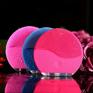 3 in 1 Set Silicone Facial Cleansing Brush