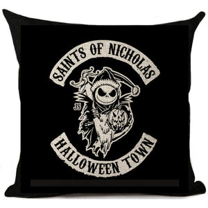 Nightmare Before Christmas Decorative Pillow Case
