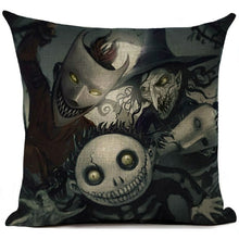 Load image into Gallery viewer, Nightmare Before Christmas Decorative Pillow Case