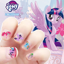 Load image into Gallery viewer, 5pcs My Little Pony Nail Stickers 3D