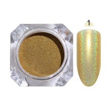 Load image into Gallery viewer, 1g Chameleon Nail Powder Mirror Matte Effect
