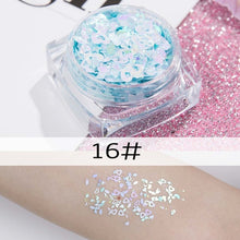 Load image into Gallery viewer, 26 colors glitter eyeshadow powder