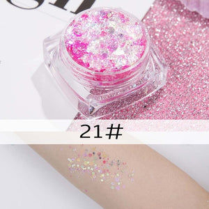 26 colors glitter eyeshadow powder