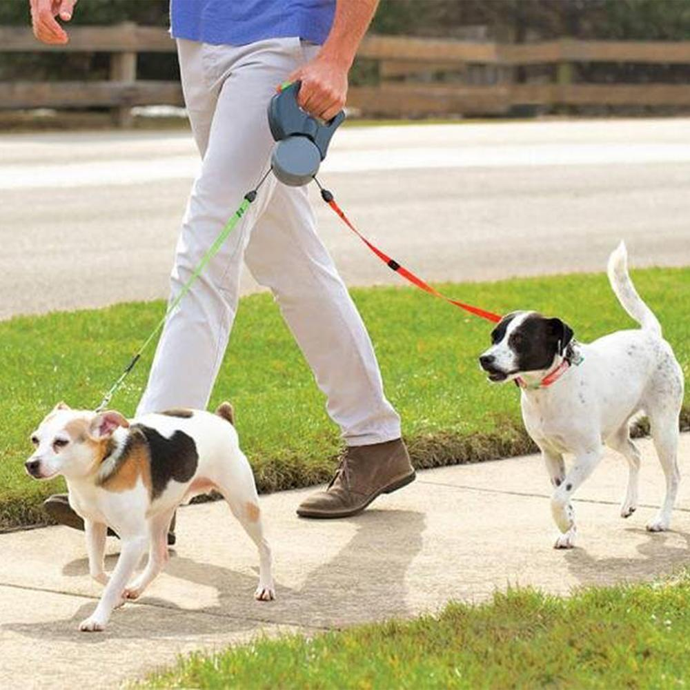 Dual Doggie - Retractable Dog Leash