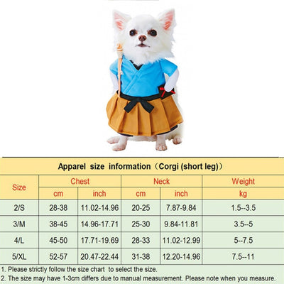 Chic Pets Halloween Costume at My Pets Store Deadly Doll Dog Clothes Pets Costume Halloween Cosplay for Small Dog  Costumes Plus Hat Funny Dog Party Clothes Christmas Costume: Amazon.ca: Pet  Supplies