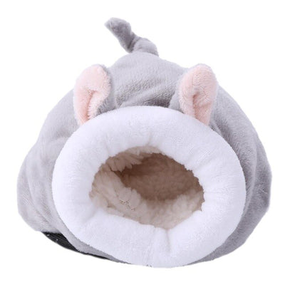 Hamster - Cute Cotton Pet Bed for small animal Pet Dog Bed Comfortable Donut Cuddler Round Dog Kennel Ultra Soft Washable  Dog and Cat Cushion Bed Winter Warm Sofa hot sell Houses, Kennels & Pens amazon cat bed