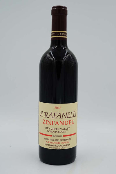 A. Rafanelli Winery, Dry Creek Valley, Sonoma, Zinfandel, 2017