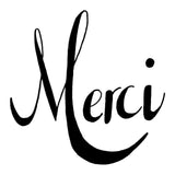 kit punch needle message MERCI